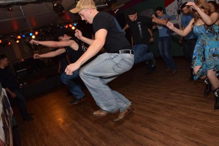 3) Go line dancing!