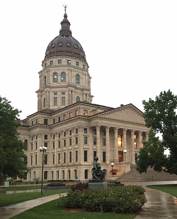 9. The Kansas Legislation approves both the Kansas Lottery and liquor by the drink (1987).
