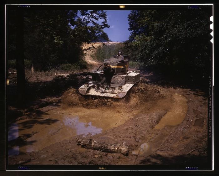 11. Light tank.