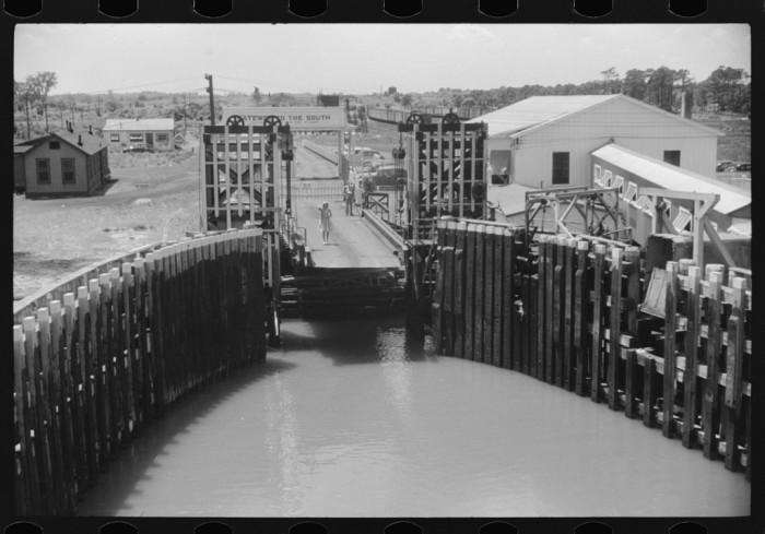 """13. In 1940, the Little Creek – Cape Charles Ferry was known as the """"Gateway to the South."""""""
