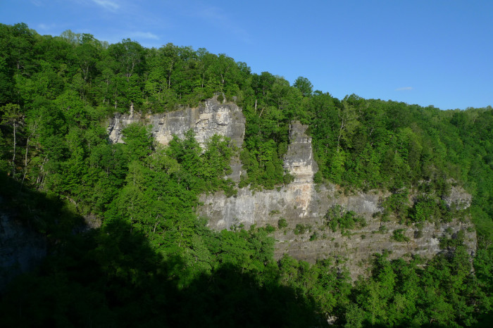 8. Lover's Leap, Natural Tunnel State Park, Duffield