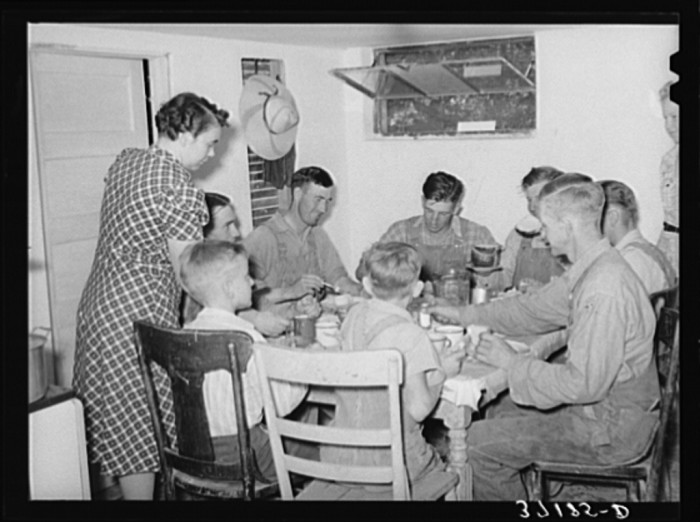11. Eating Lunch at Home, Box Elder