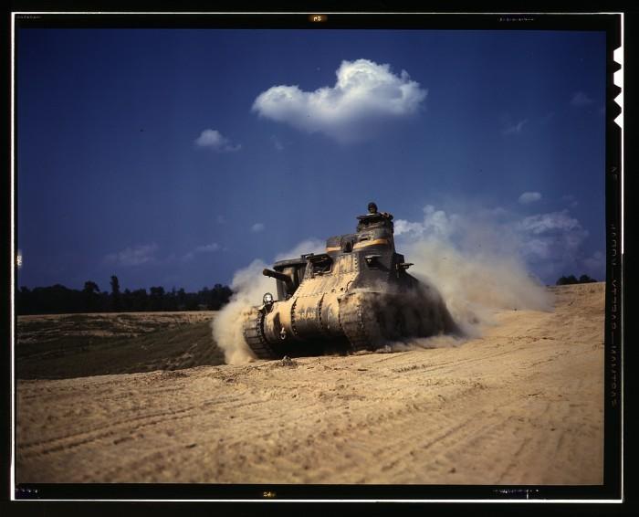 7. M3 tank, 1942.