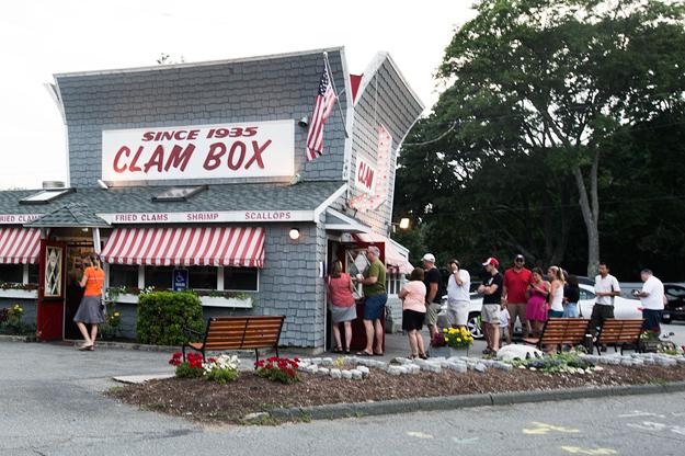 4. The Clam Box, Ipswich