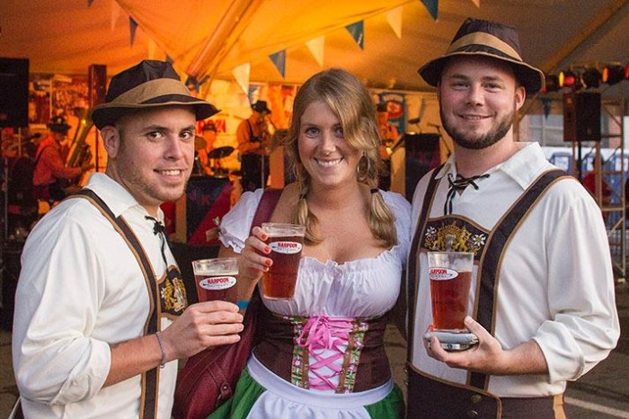 6. Enjoy a beer (or a few beers) at Harpoon's Octoberfest.