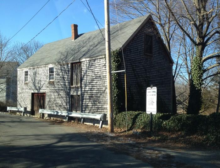 2. Mordecai Lincoln Mill, Scituate