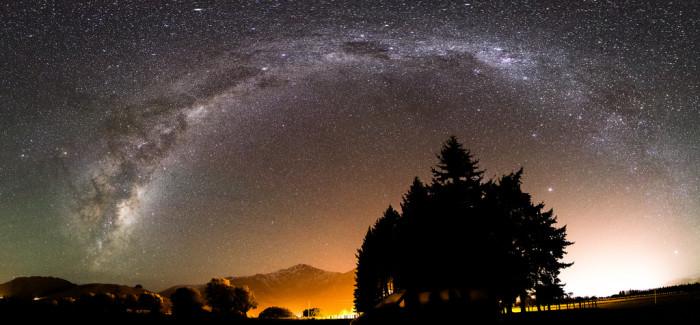 11. A peek at the stars.