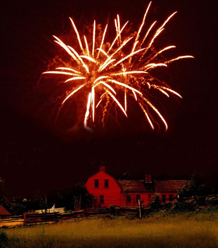 4. Legal fireworks.