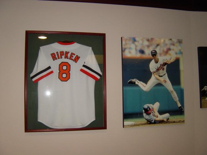 6) They own a Cal Ripken Jr. jersey.