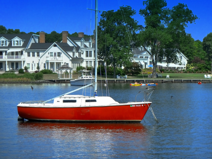 14) They or someone in their family owns a boat.