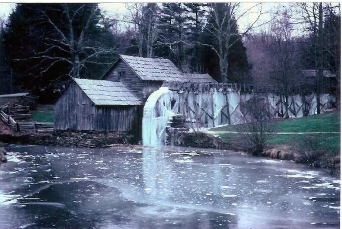 10. Mabry Mill in Meadows of Dan.