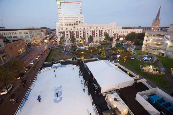 6. MacArthur On Ice and the Winter Carnival at the MacArthur Center, Norfolk