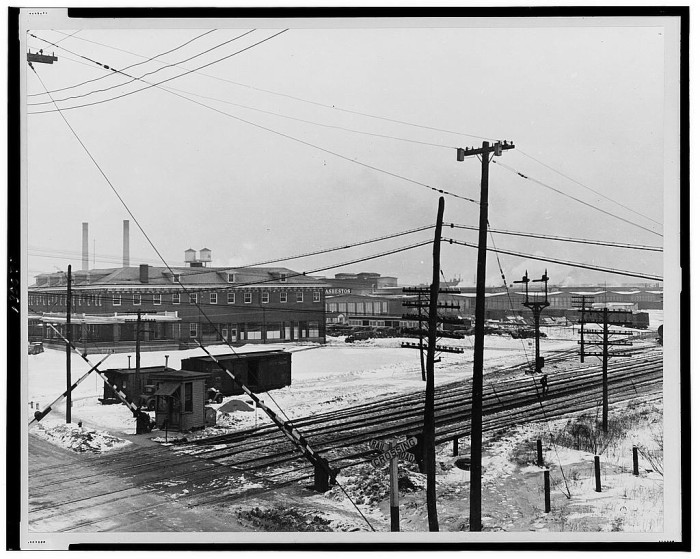 6. The Manville Works, Manville, Somerset County, 1936.