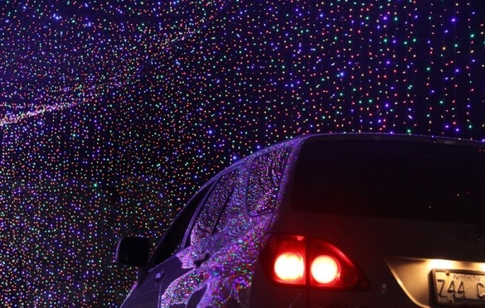 Megacavern lights.