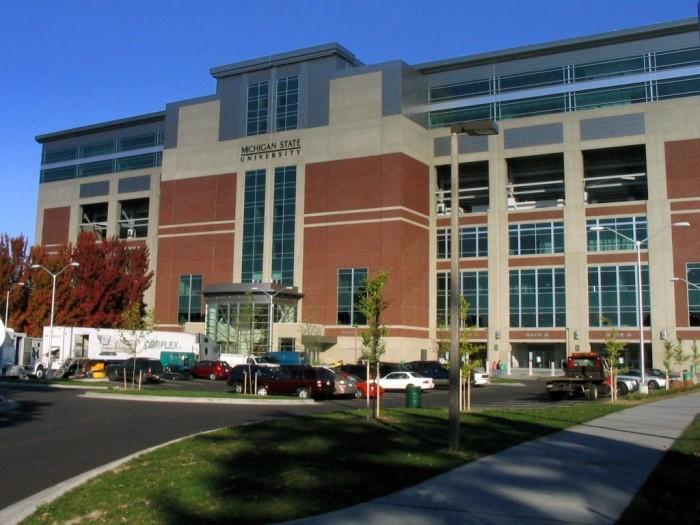 2) Michigan State University, before