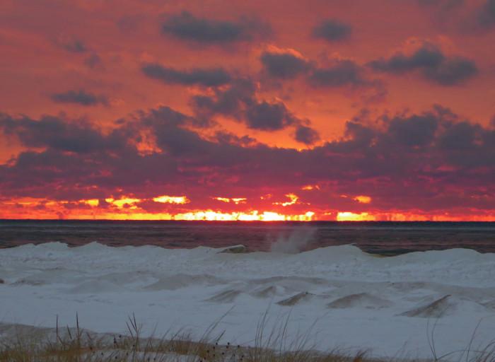 1) Michigan beauty