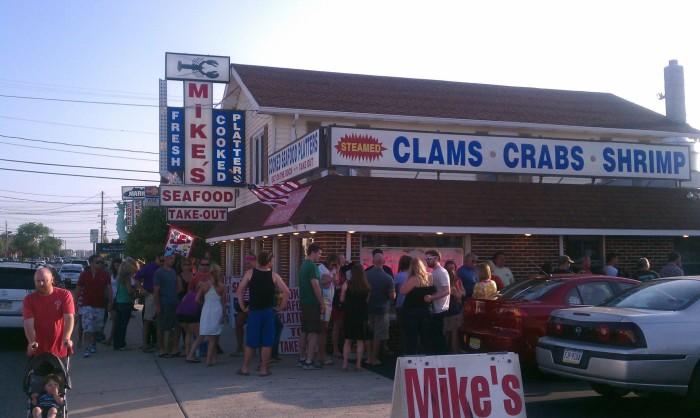 4. Mike's Seafood, Sea Isle City