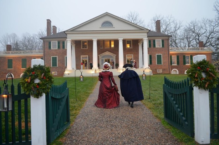 13.	Visit one of the many historic homes in Virginia, maybe even by candlelight.