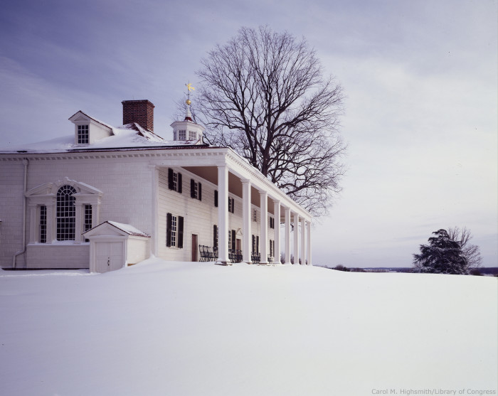 11. George Washington's Mount Vernon in Fairfax County.