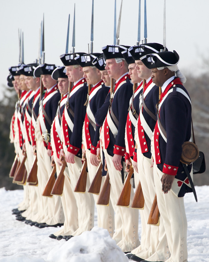 Mount Vernon old guard