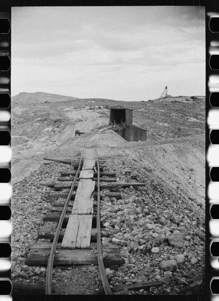 "3. ""Abandoned mine. Goldfield, Nevada."""