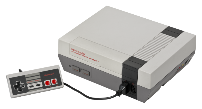 2. If you were anything like me, you probably begged your parents for the brand new Nintendo Entertainment System and spent hours playing it.