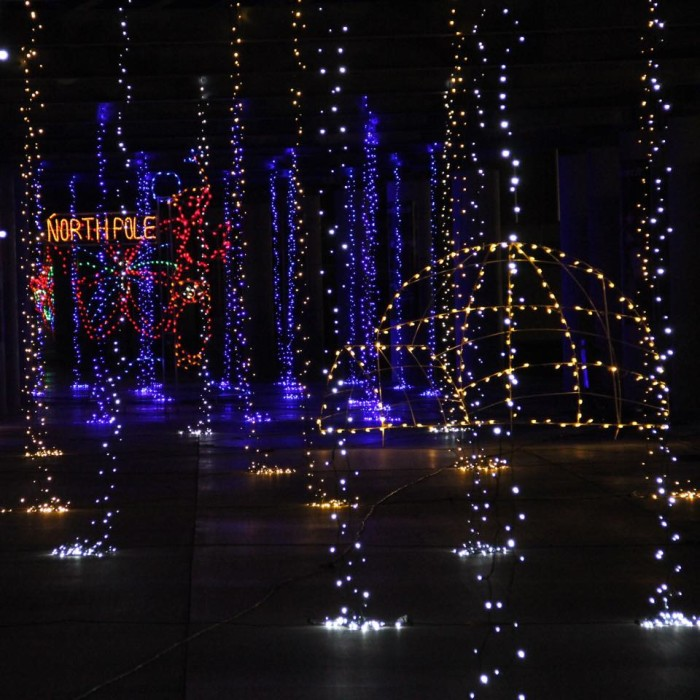 3. Glittering Lights at Las Vegas Motor Speedway