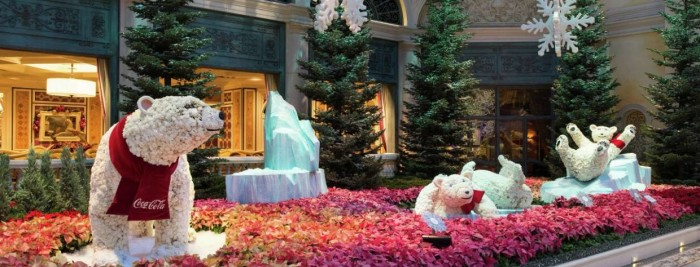 5. Holiday Display at Bellagio's Conservatory & Botanical Gardens - Las Vegas