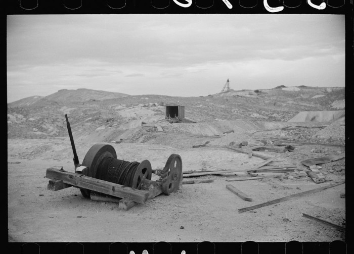 1. An abandoned mine in Goldfield, Nevada.