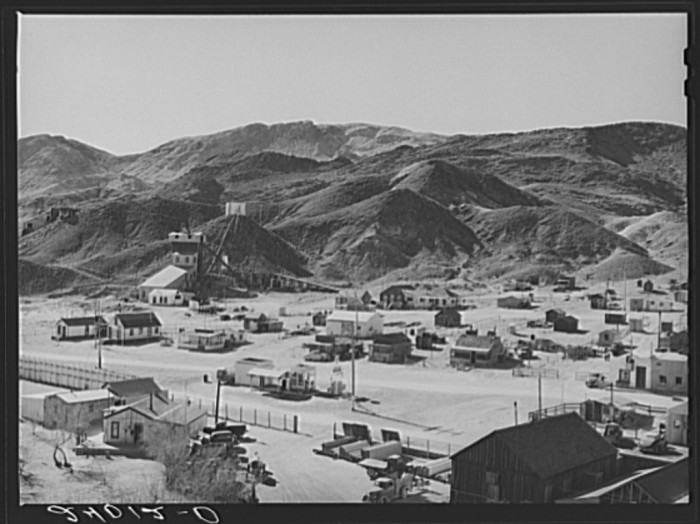 3. Silver Peak, Nevada - an active mining town.