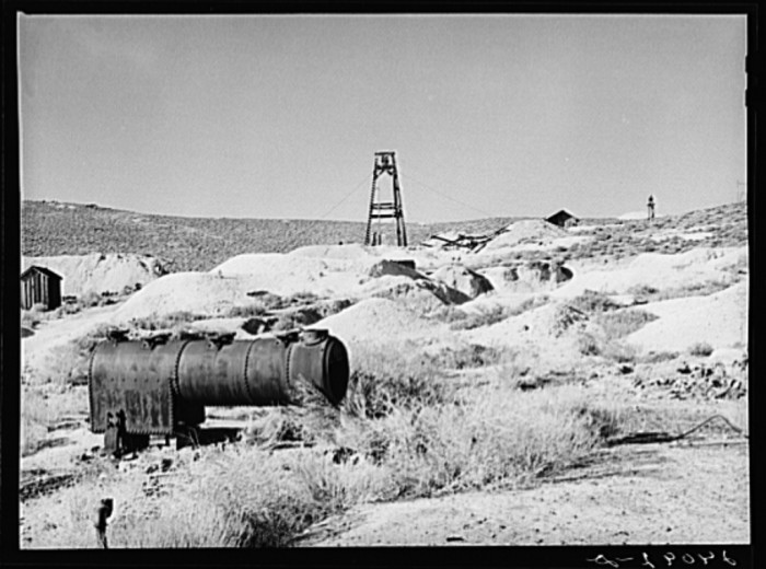4. An abandoned mine in Washoe County, Nevada.