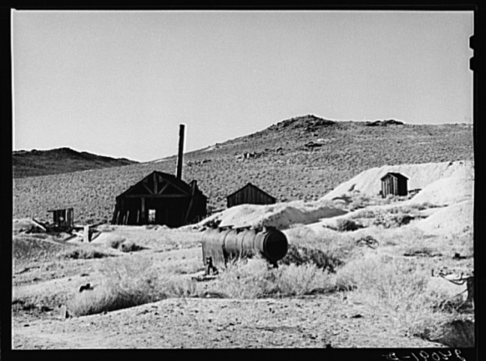 8. Another shot of an abandoned mine in Washoe County, Nevada.