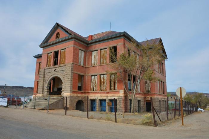 6. Goldfield High School - Goldfield, NV