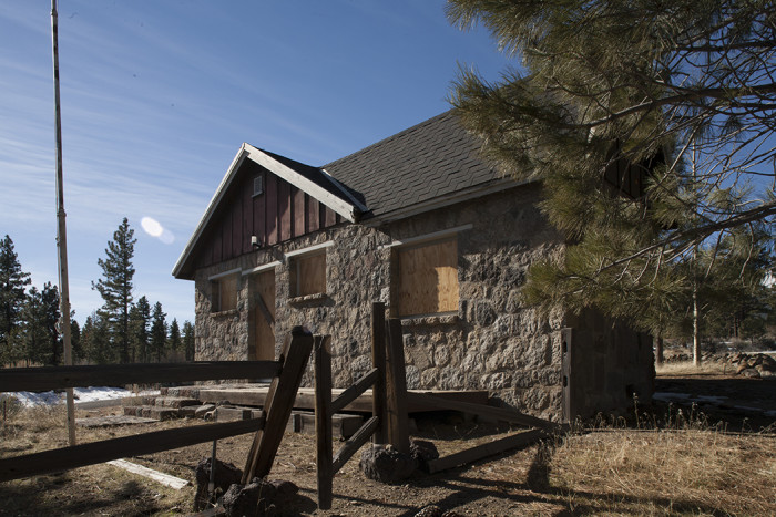 8. Galena Creek Schoolhouse - Storey County, NV