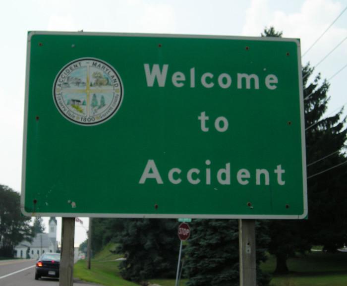 1) Accident