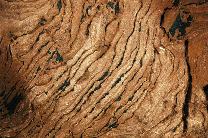 2) Native copper-replaced cross-bedded sedimentary rocks, Upper Peninsula