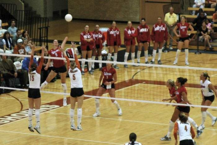 1. The 2015 women's volleyball championship. Go Cornhuskers!