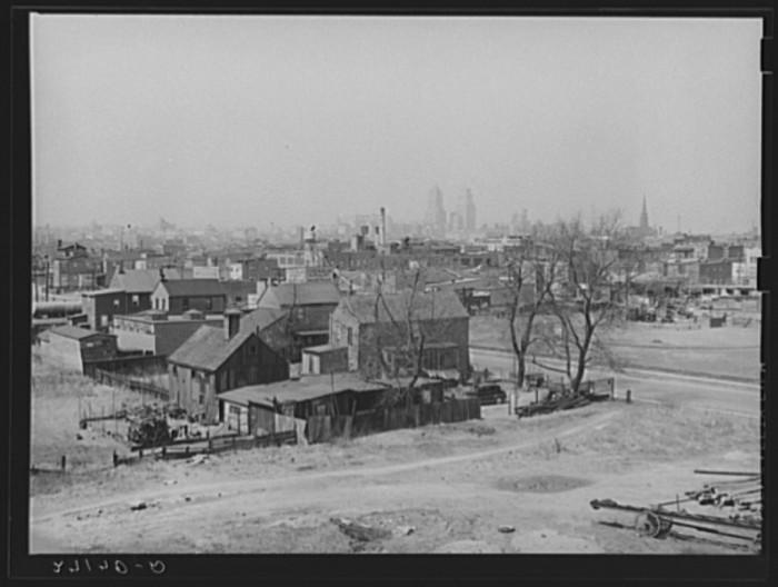 3. The slums of Newark, 1939.