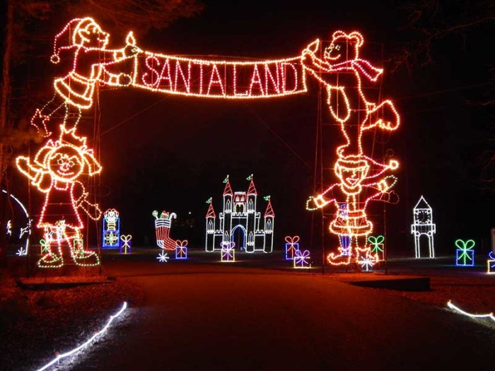 celebration in lights newport news