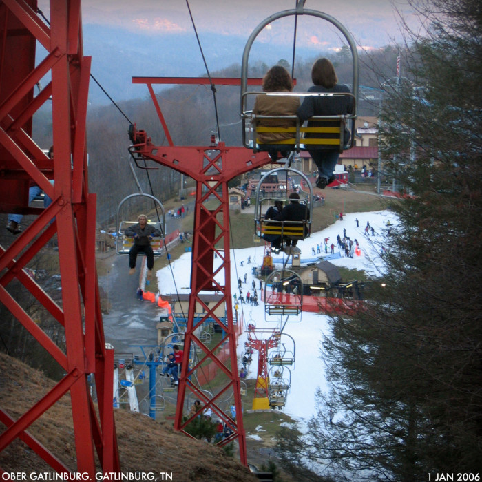 2) Ober Gatlinburg Ski Resort - Gatlinburg