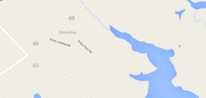 10. Onemo, Mathews County