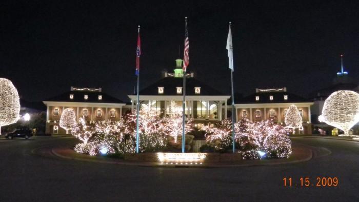1) Opryland Christmas Lights - Nashville