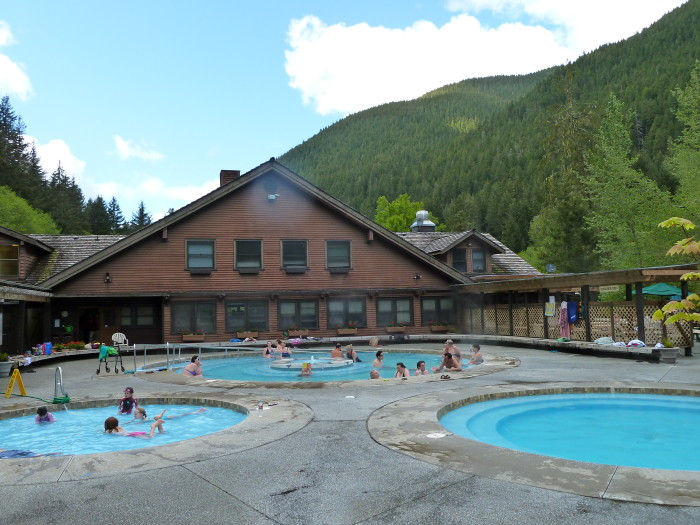 how to go to olympic national park from vancouvre in