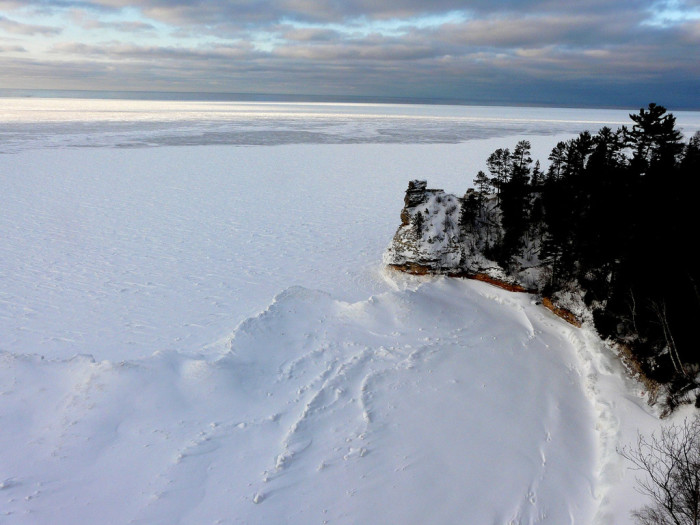 Pictured Rocks National Lakeshore, after