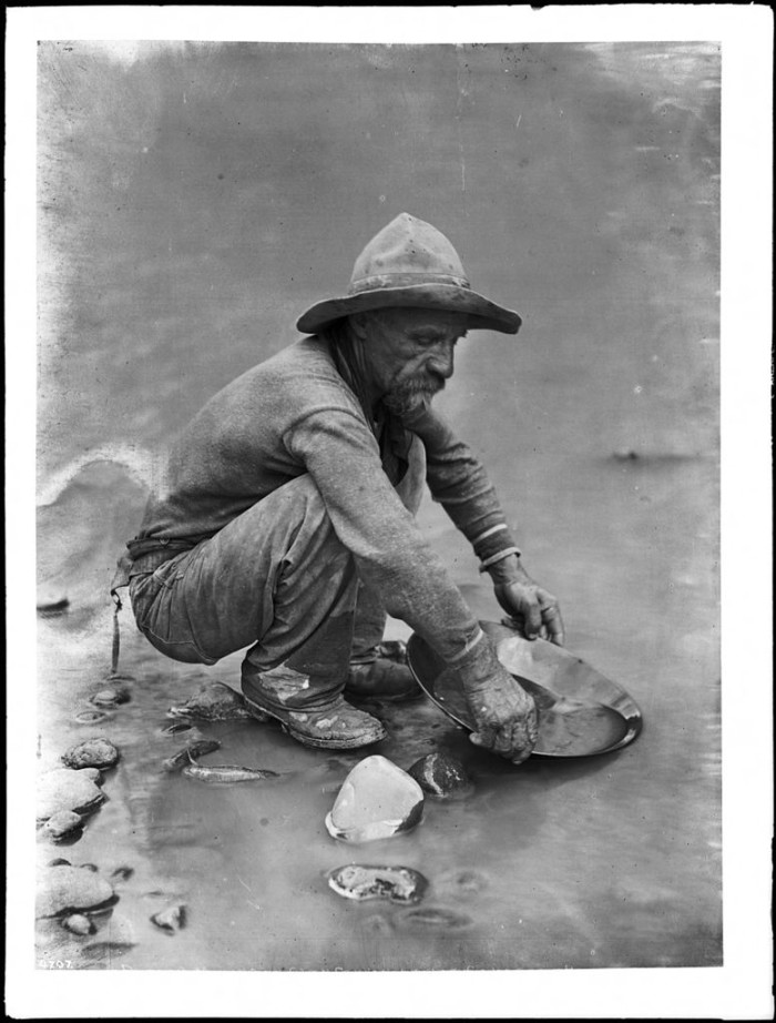 2. This placer miner sits near Lee's Ferry along the Colorado River in 1930.