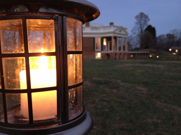 8. Candlelight Tours of Thomas Jefferon's Poplar Forest, Forest