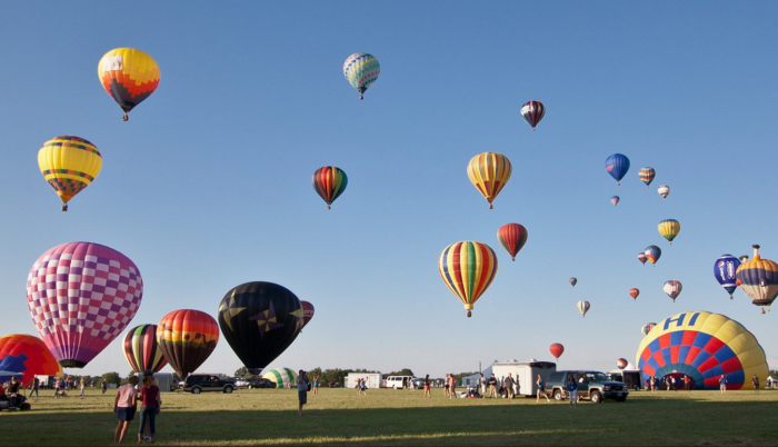 6. Set your sights higher at the Quick Chek festival of Ballooning.