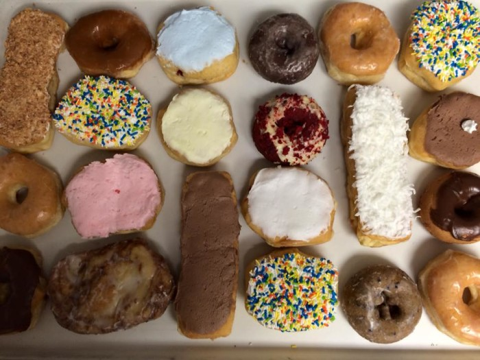 Rolling Pin Pastry Shop donuts.