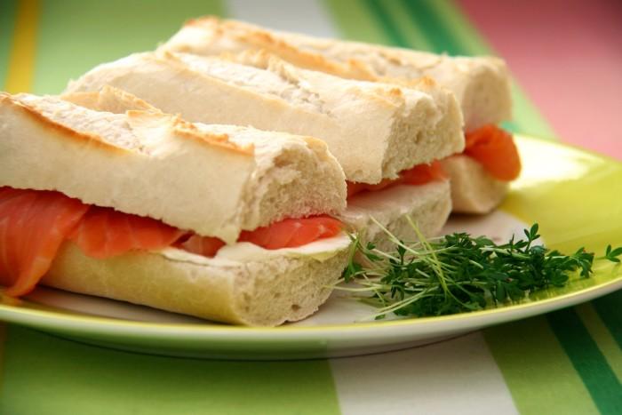 12. When a sandwich isn't made right.