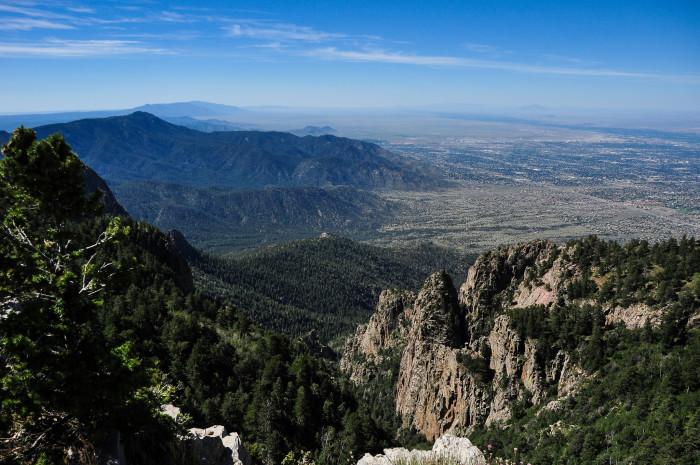 6. View from Sandia Peak, Overlooking Albuquerque